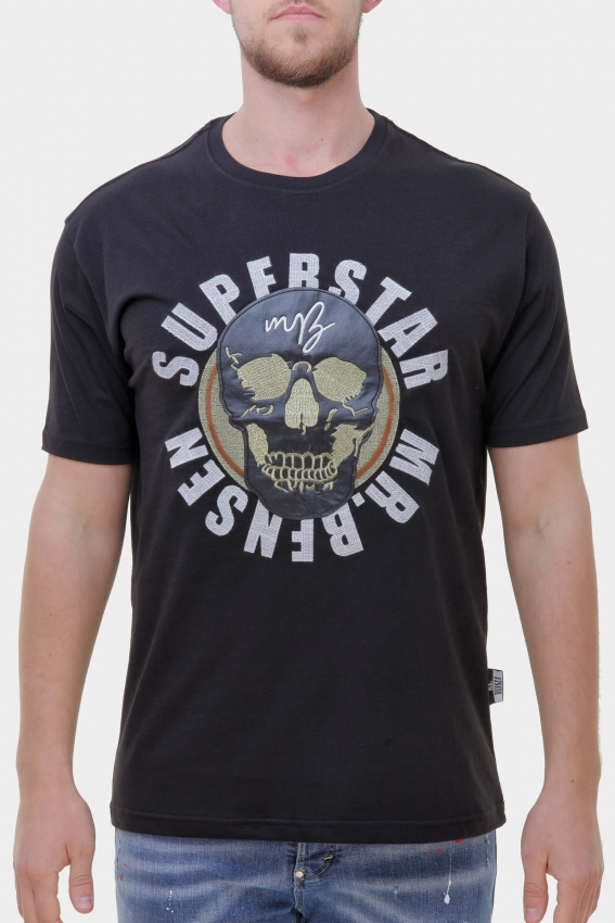 Mr. Bensen Superstar Shirt Men schwarz