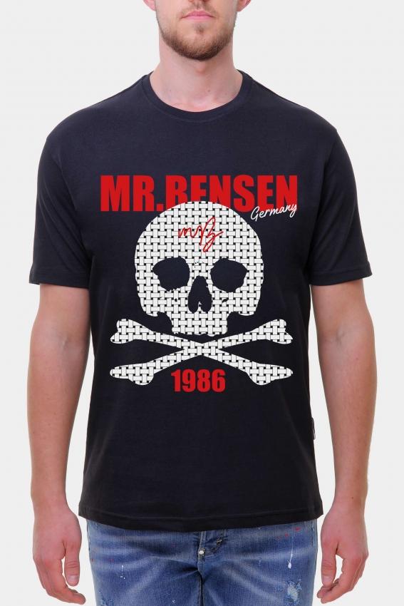 Mr. Bensen Rattan Skull Shirt Men